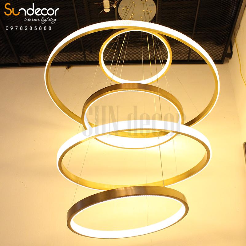 SP001022 – Đèn Chùm Thông Thầng Hiện Đại