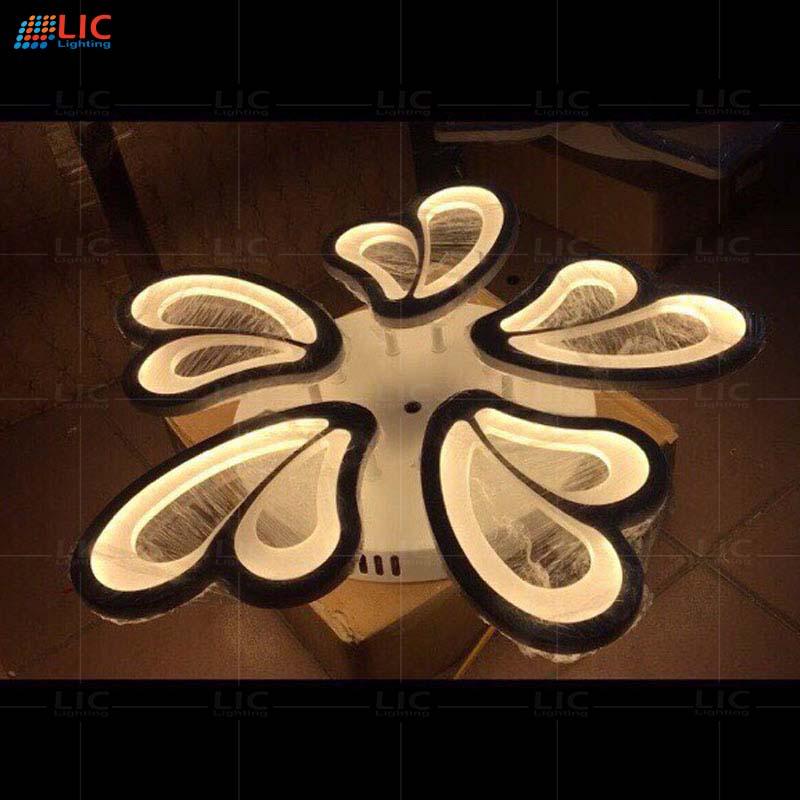 Đèn Mâm Ốp Trần Mica Led V23