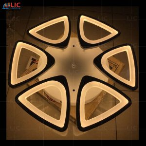 Đèn Mâm Ốp Trần Mica Led V8