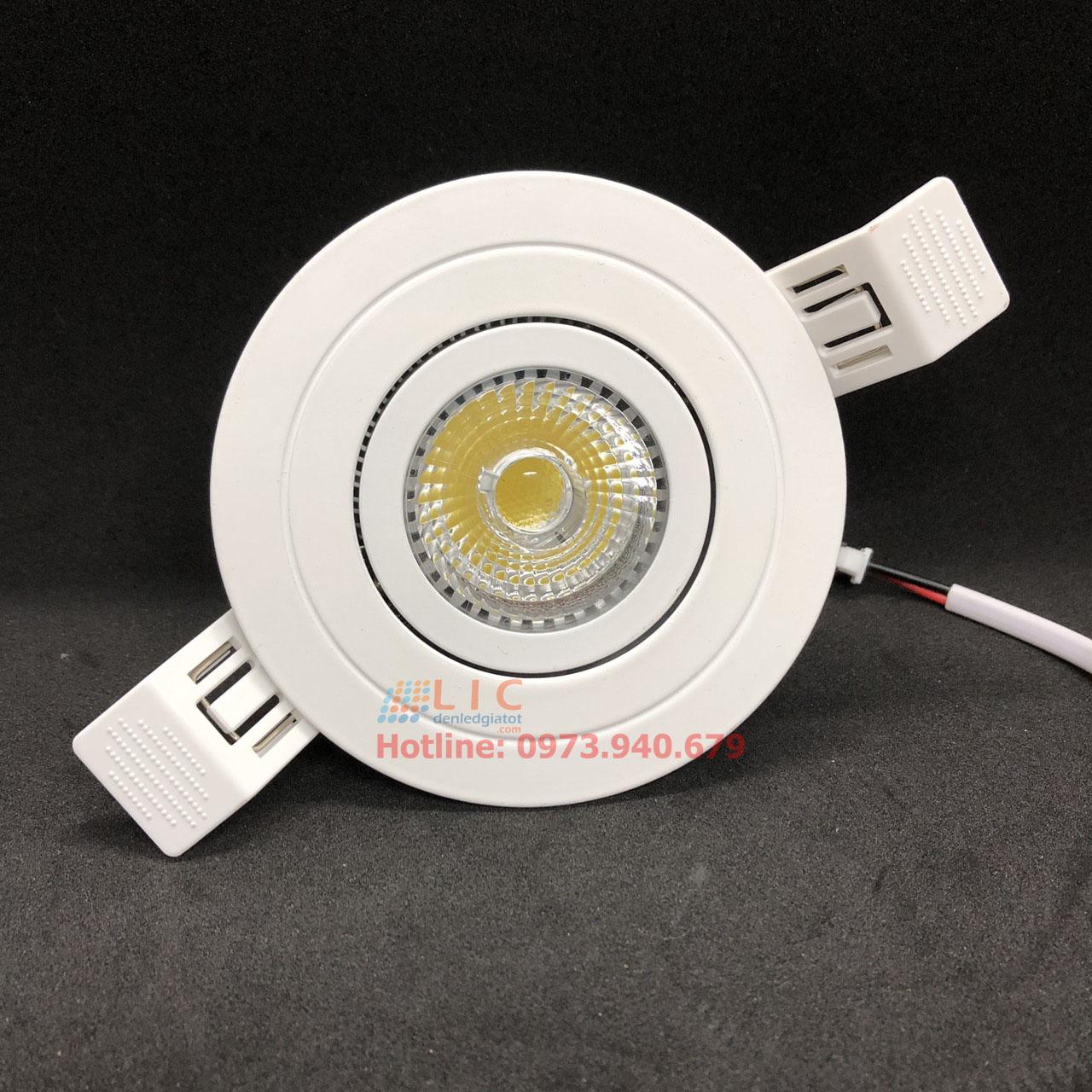 Đèn Âm Trần Lic D9560-70T Hàng Cao Cấp