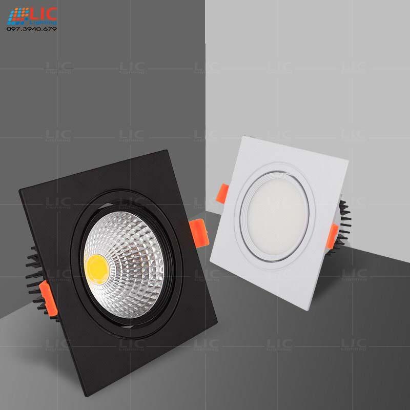 Đèn Downlight Âm Vuông 7w/10w/12w (D120mm)
