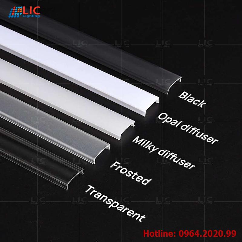 Mặt tản quang cho thanh nhôm định hình led